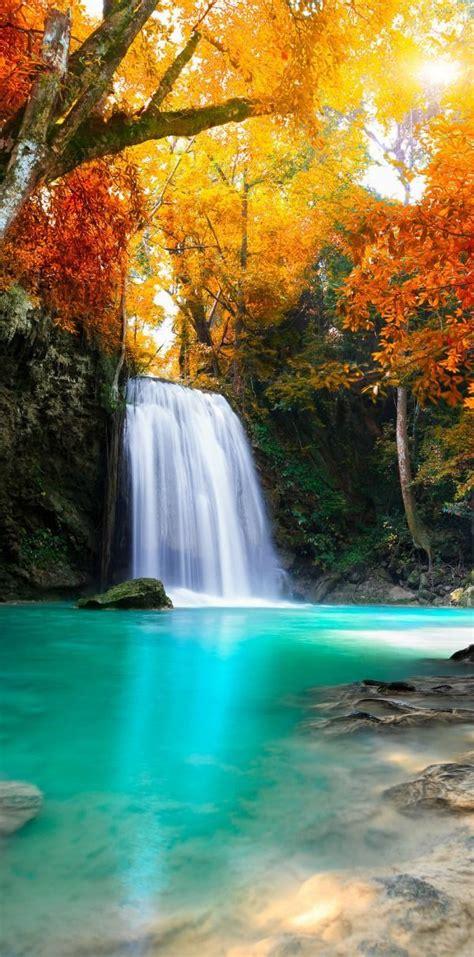beautiful waterfalls best 25 waterfall wallpaper ideas on