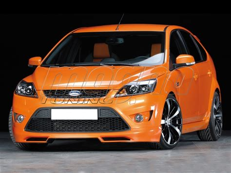 ford focus  st redo front bumper extension