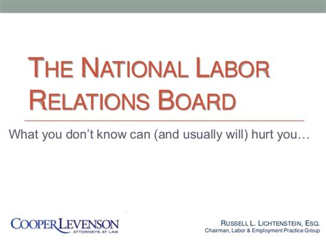 National Labor Relations Board Search National Labor Relations Board R Li