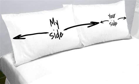 My Side Your Side Pillow my side your side pillow cases oh my that s awesome
