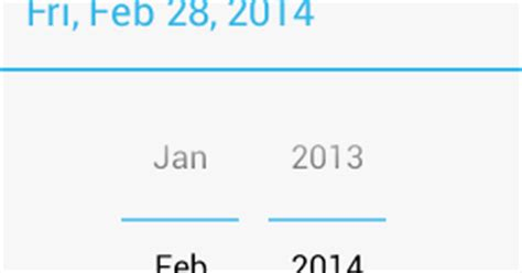 android default datepicker dialog layout config issue kelatebaru how to show only month and year fields in