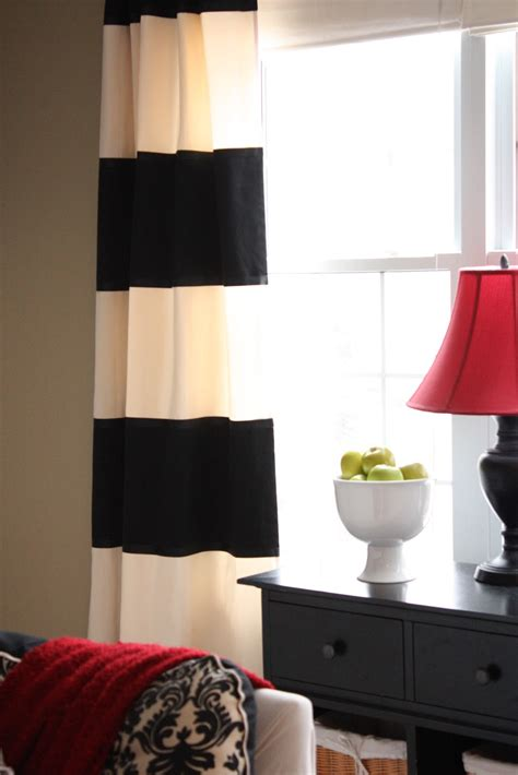 black and curtains for living room living room no sew curtains stripe black and white striped living room b black and white