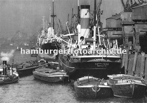 welche schiffe liegen im hamburger hafen historisches foto vom kaiser wilhelm hafen altes bild