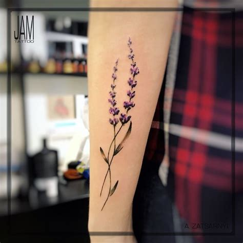 watercolor tattoo lavender best 25 lavender ideas on