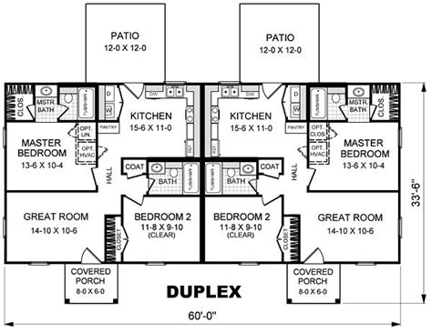 basic duplex floor plans 17 best ideas about duplex plans on pinterest duplex