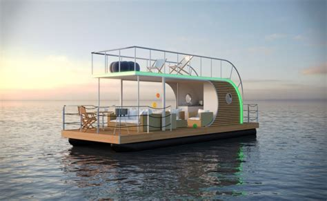 modern house boat nautilus houseboat offers modern lifestyle and luxury living on water