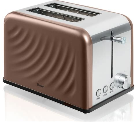 Two Slice Toaster Buy Swan St19010twn 2 Slice Toaster Copper Twist Free