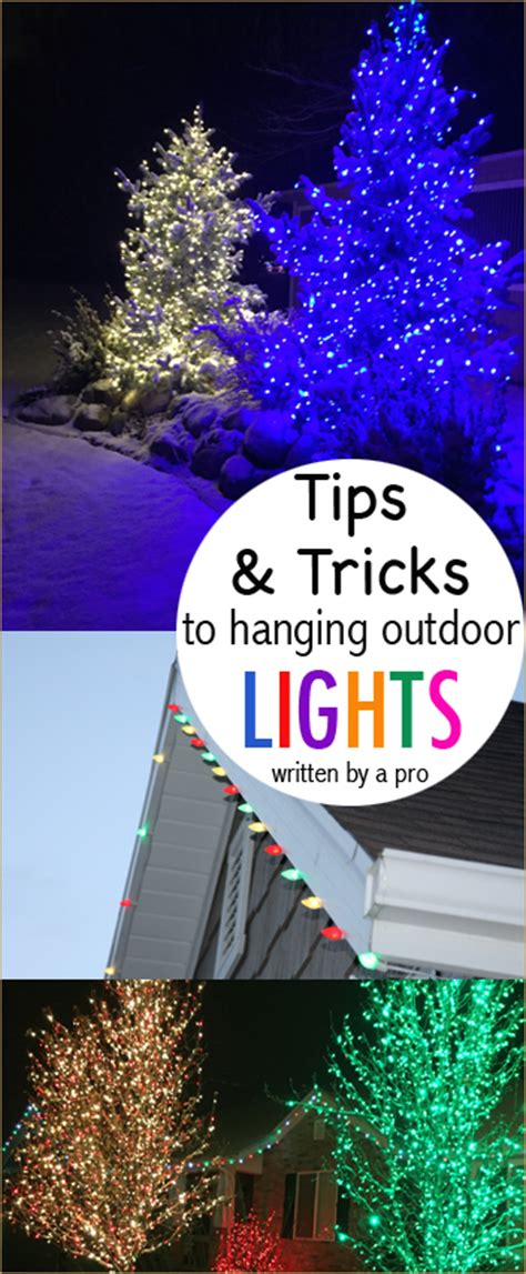 christmas lights to hang on outside tree how to hang christmas lights paige s party ideas