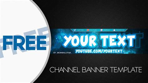 Free Channel Banner Template Speedart Free Hd Youtube Channel Banner Template Doovi
