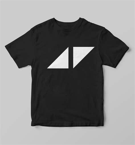 T Shirt Avicii Black avicii logo t shirt t shirts