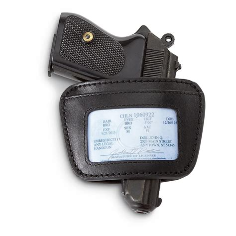 hülster bett belt slide holster with permit holder 22 380 184919