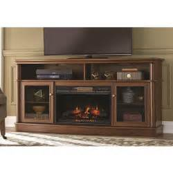 tolleson 68 in media console infrared bow front electric