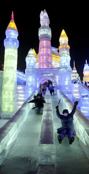 Travel Jumbo Frozen Trj china s harbin festival 2013