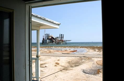 rick s front door hurricane aftermath dauphin island alabama