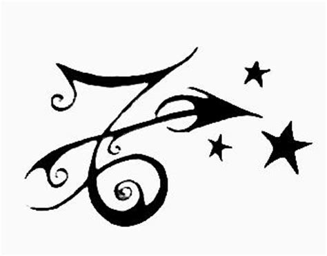 Capricorn Symbol Outline by Sparkling Sagittarius And Capricorn Together Tattoos On Wrist Photos Pictures And Sketches