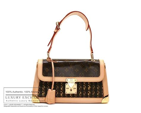 authentic louis vuitton monogram tweedy bag