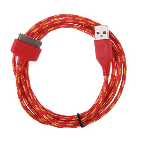 1m 2m 3m 30 pin usb sync data charging charger cable for iphone 4 4s 4g braided ebay
