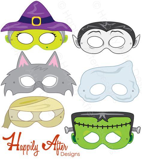 printable halloween mask designs halloween monsters printable masks