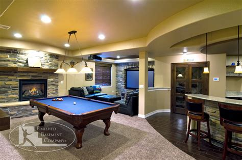 basement family room traditional basement denver