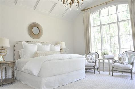 master bedroom all whites design neutral bedrooms wall trim and this
