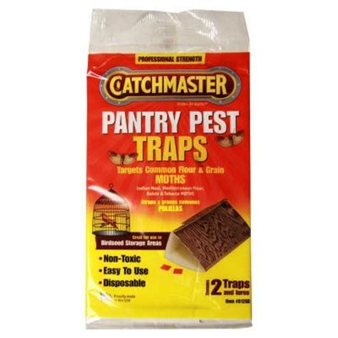 The Pantry Pest Trap by Catchmaster Pantry Pest Moth Traps 2 Pack 812sd The