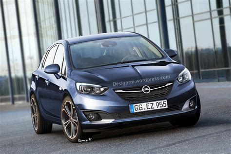 Opell Astra Next Generation Opel Astra Rendered Gm Authority