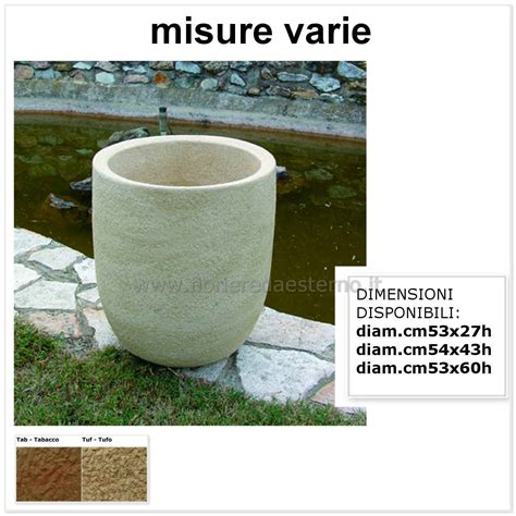 vaso pietra vasi da giardino 5404960 in pietra ricostruita fioriere