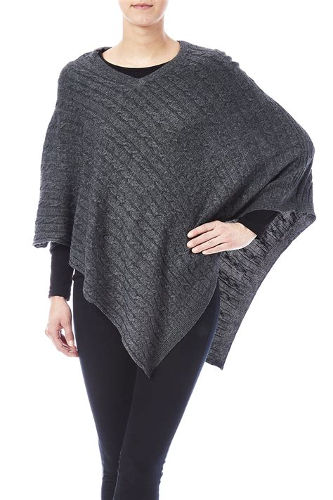 cable knit poncho venezia cable knit poncho from san diego