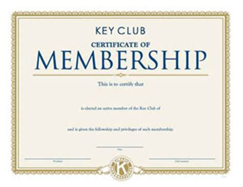 product detail membership certificate