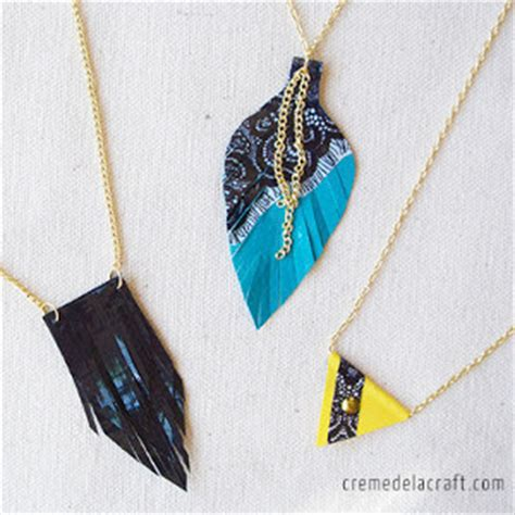 how to make duct jewelry dynamite duct necklace trio allfreekidscrafts