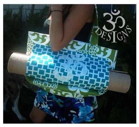 pattern for a yoga bag namaste designs yoga tote bag pattern pdf pattern by