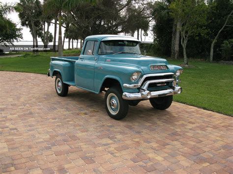1956 gmc 100 factory 4x4 napco step side