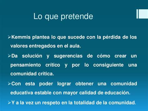 Modelo Curriculum Stephen Kemmis Curriculum