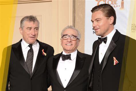 Brad Pitt Robert De Niro Leonardo Dicaprio Brad Pitt Robert De Niro And Martin
