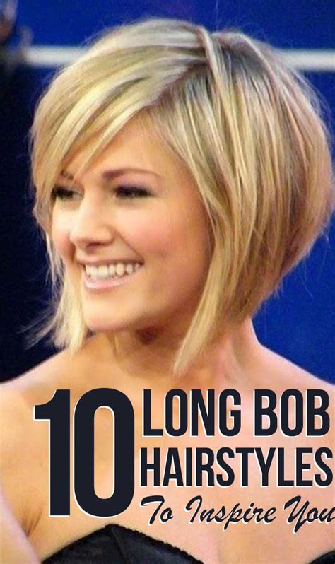 10 most popular bob hairstyles with bangs 10 long bob hairstyles to inspire you bangs long bobs