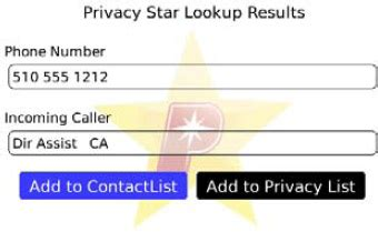 Privacystar Lookup Review Privacystar For Blackberry Crackberry