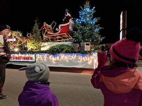 optimist santa claus parade  home