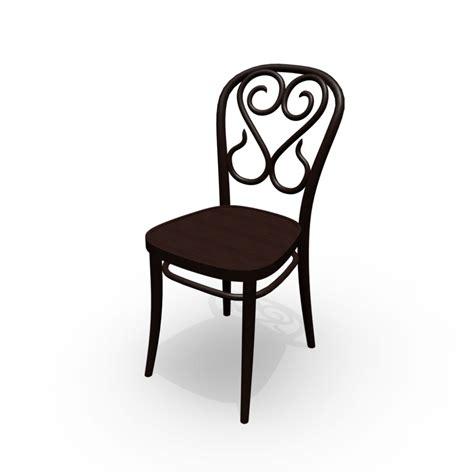 stuhl 3d stuhl no 4 einrichten planen in 3d