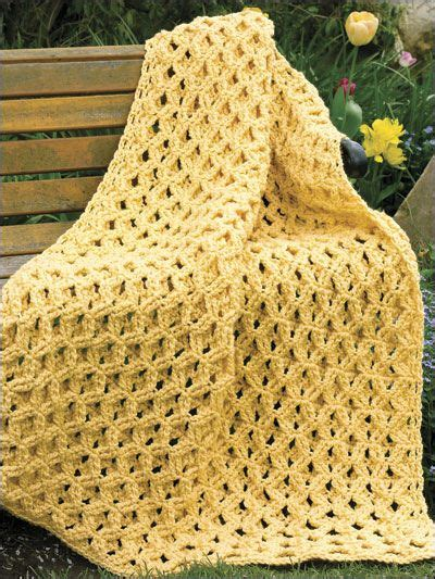 crochet pattern bulky yarn afghan easy crochet afghan patterns crochet and knit