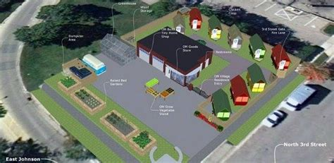 new tiny house neighborhood will allow homeless to rent to own citizen emerson east neighborhood warms to occupy madison