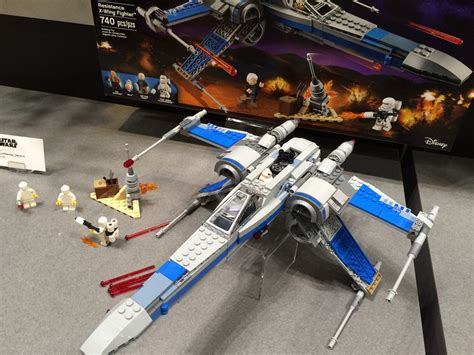Lego Wars 75149 Resistance X Wing Fighter No Minifigures Box lego wars x wing toys 4k wallpapers