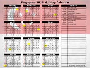 Calendar 2018 Hari Raya Puasa Singapore 2016 2017 Calendar