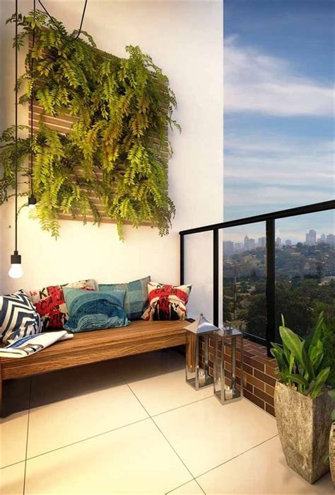 vertical garden design  balcony wall unique balcony