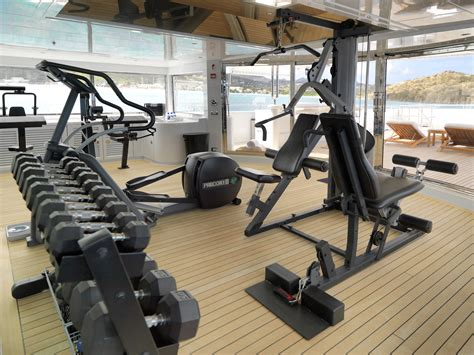 Apogee Fitness by Gymnasium Apogee Yacht Charter Superyacht News