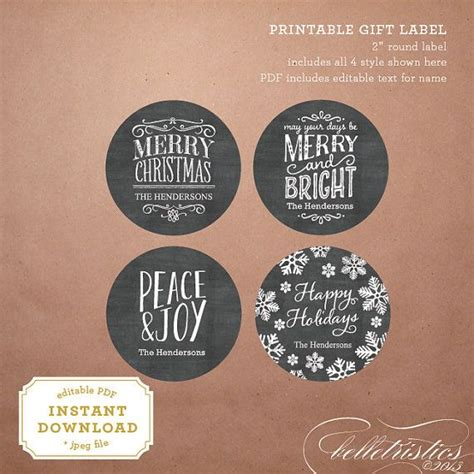 printable chalkboard tags 9 best images of christmas printable chalkboard gift tags