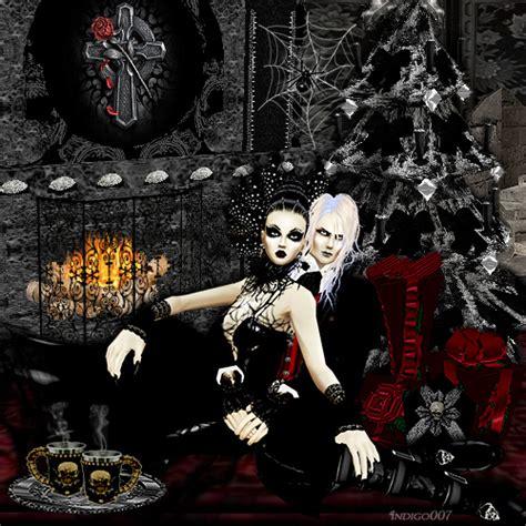 wallpaper dark christmas gothic christmas wallpaper wallpapersafari
