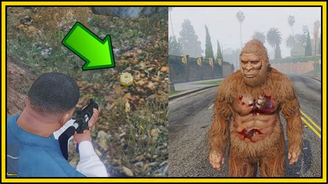 how to in gta 5 new gta 5 bigfoot gameplay secret golden peyote found how to play as sasquatch in