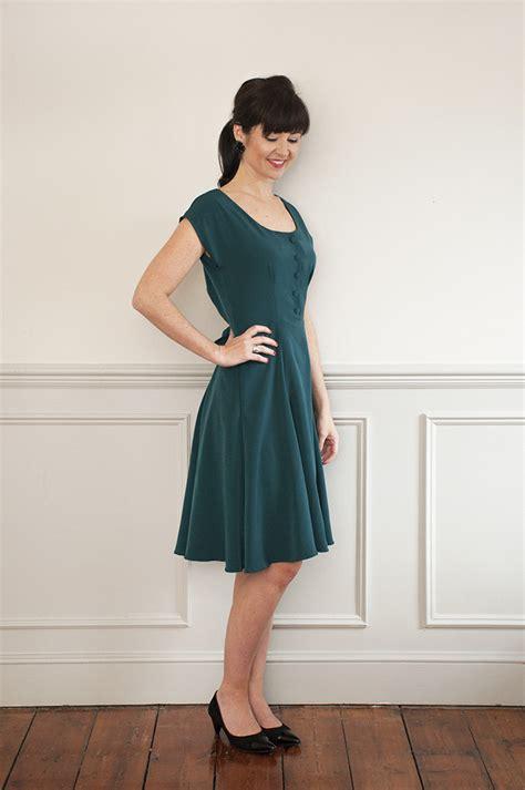sew   doris dress sewing pattern sew
