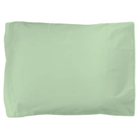 solid mint green pillow sham by admin cp11861778