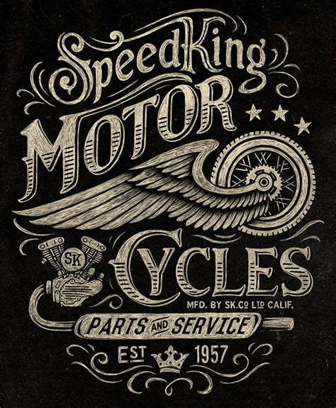 30 vintage designs for custom car amp motorcycle brands
